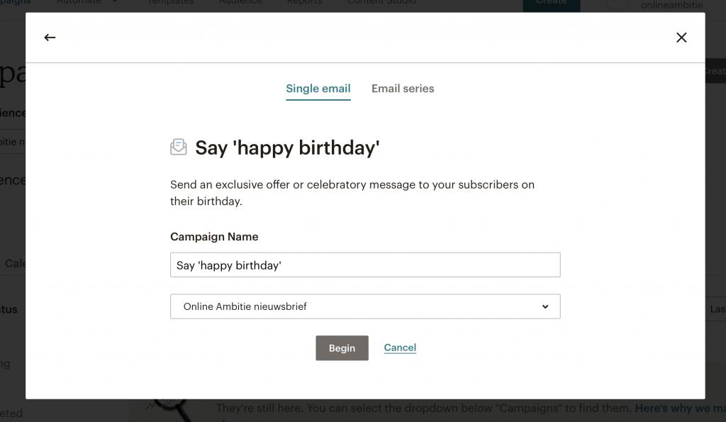mailchimp-verjaardagsmail-instellen